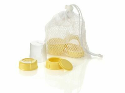 Medela Wide Base Collar and Lid Sets