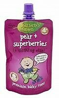 Raffertys Smooth Pouch 120g Pear / Superberry
