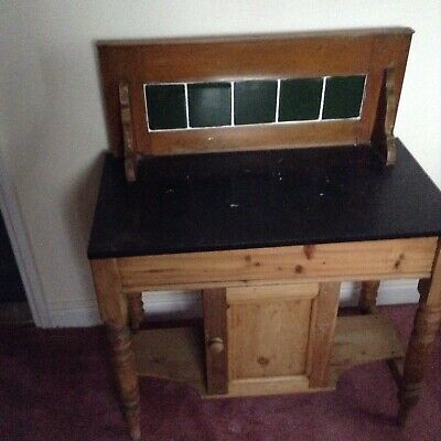 Antique Marble toped Washstand .
