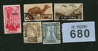 Set stamps of  Italian Colonies