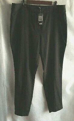 City Chic Women's Dress Pants w/Stretch Black Size 18 Career Work Church