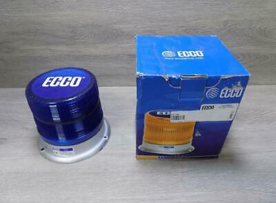Ecco 7960 Blue Beacon Light 12-24vdc