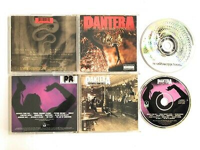 Pantera the great southern trendkill AND Pantera cowboys from hell MUSIC CD LOT