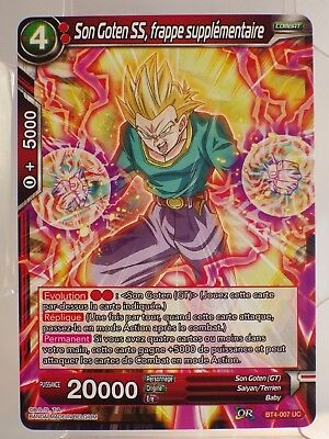 CARTE BT4-119 C colossal warfare Dragon Ball Super Card Game VF JCC FR