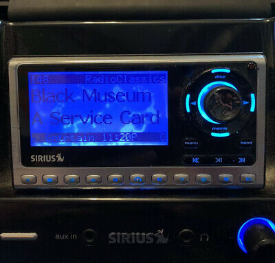 Sirius Sportster SP4 Lifetime Subscription Receiver Only