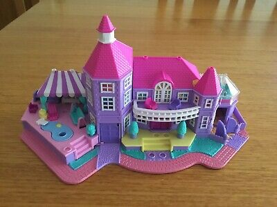 Polly Pocket Vintage House - 1994. Pink / Purple. Postage And Tracking Included.