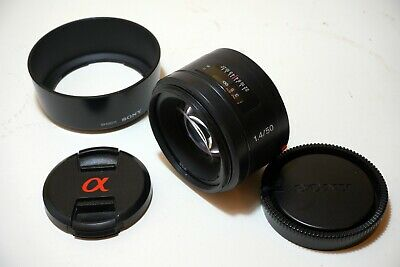 Sony SAL 50mm f/1.4 AF Lens for Sony A-Mount (Minolta A-Mount) VERY GOOD