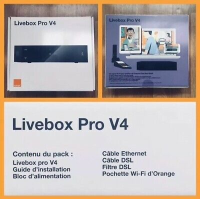Livebox Pro V4 Orange
