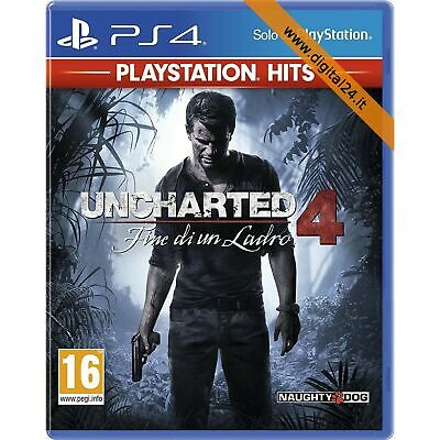 Uncharted 4: Fine di un Ladro [PlayStation Hits] - PlayStation 4