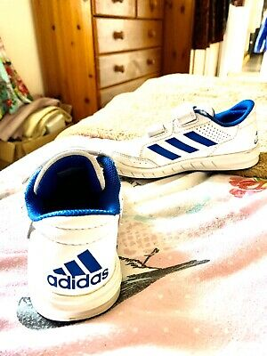 Adidas trainers Girls size 12 Out Grown But Still Lots Of Wear Left
