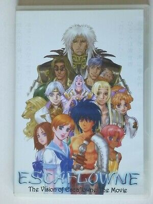 Escaflowne - The vision of Escaflowne The Movie - DVD (All codes)