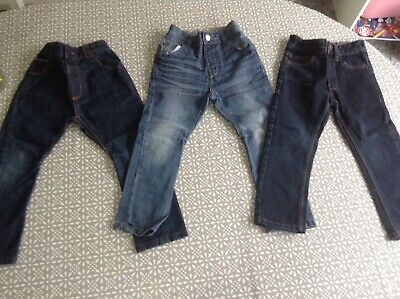 Boys Jeans 2-3 years NEXT denim trousers Very Good condition GeorgeX3 pairs