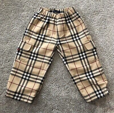 Boys Geniune Burberry Trousers Age 2