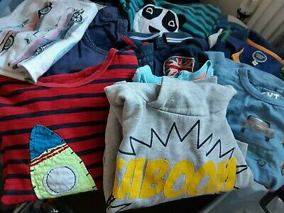 Boys 11 item Clothing Bundle 3 / 3-4 years Tops & Trousers Joules & Next
