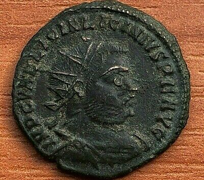 Roman Empire - Licinius I 308-324 AD AE Follis Jupiter Ancient Roman Coin
