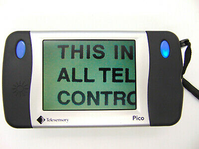 TELESENSORY PICO Low Vision Pocket Video Magnifier 3X-11X  DIGITAL MAGNIFIER