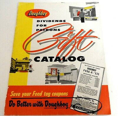1958 Doughboy Gift Catalog From New Richmond Wisconsin