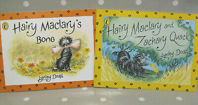 Hairy Maclary's Bone & Hairy Maclary and Zachary Quack - By Lynley Dodd - NEW