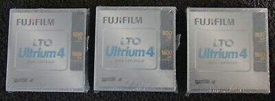 3 x 1600 GB FUJIFILM LTO Ultrium 4 Data Cartridges