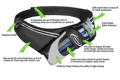 BNWT Running / activity belt to hold water & your belongings Men or Womens