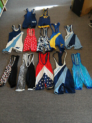 12 Youth Wrestling Singlets Brute+++ Sm XS Med LG AS (NW OHIO+SE PENN+COUGARS)