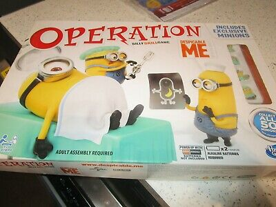 Despicable Me Operation MINIONS Children's Fun Family Board Game Hasbro played 1
