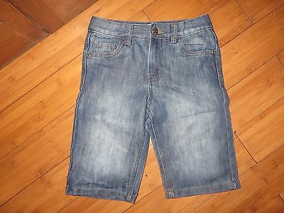 boys boy shorts age 7-8 years light blue denim adjustable waist  superb conditio