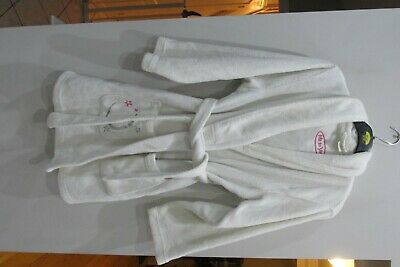 Girls White Me To You Dressing Gown Size Age 12 - 13 Years Good Condition