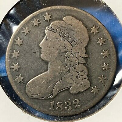 1832 50C Capped Bust Half Dollar (54219)