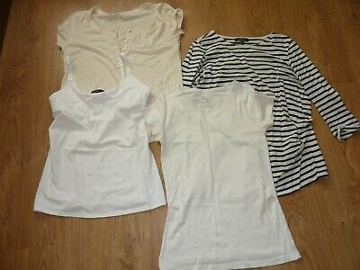 Maternity tops bundle New look, george, Peacock size 10