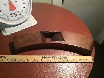 Antique 1868 Coopers,D.R. Barton, Rochester N Y, Barrel, Wood Plane - As Is