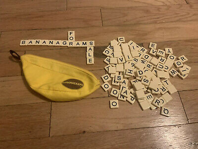 Bananagrams Crossword Family Fun Game No Instructions All Letter Tiles included