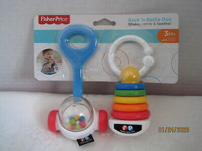 Lion Rattle /& Harmonica Teether NEW Fisher Price Baby Apple Teether