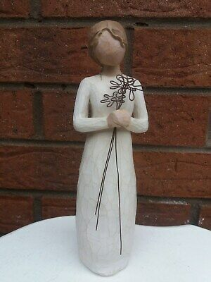 "Willow Tree Gratefull Demdaco Susan Lordi 2004 9 "" Figurine Vgc"