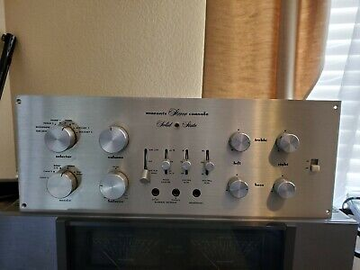 Vintage MARANTZ 7t Solid State Stereo Preamplifier / Preamp