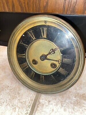 Antique Unsigned High Quality French Clock Movement For Repair **Must See!**
