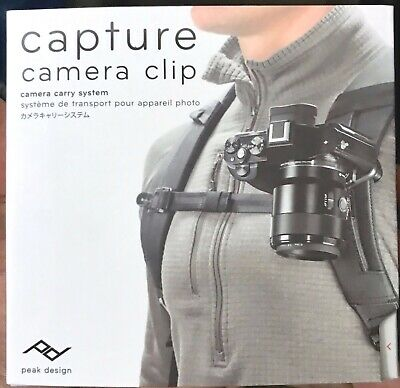 Peak Design Capture Camera Clip V3 - Black - NEW