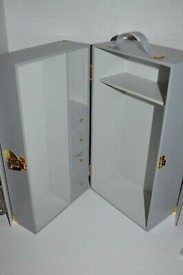 The Jackie Kennedy Doll  Franklin Mint Carrying Case Locker Wardrobe -New No box