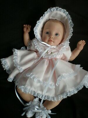Pretty Outfit  For 9 / 10 Inch Mini Reborn / Polymer Clay  Dolls