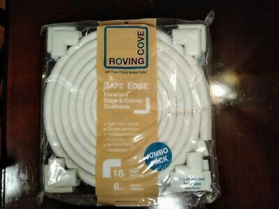 Roving Cove Jumbo Pack Safe Edge Corner Guards~ Furniture Edge & Corner Cushion