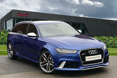 2015 Audi A6 RS 6 Avant  4.0 TFSI quattro 560 PS tiptronic 8 speed Petrol blue A