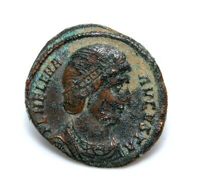 Authentic Ancient Roman Bronze Coin of Helena AE Follis