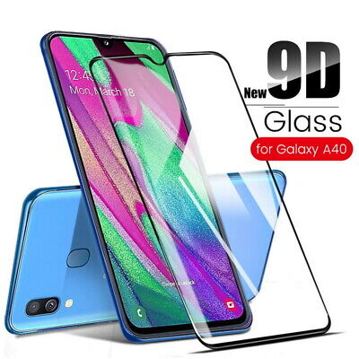 For Samsung Galaxy A71 A70 A50 A51 A9 Full Cover Tempered Glass Screen Protector