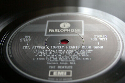 THE BEATLES - Sgt. PEPPER'S.. - 1969 UK ONE EMI BOX PRESSING - COMPLETE - EX+!!!
