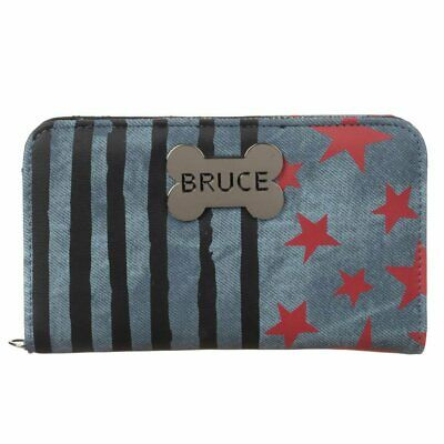 Official Dc Comics Birds Of Prey Harley Quinn Bruce Hyena Clutch Purse/ Wallet
