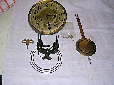 Clock  Parts ,  Movement ,Face  Hands, Chime  &Key