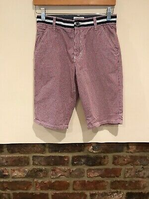 J Jeans Jasper Conran Boys Red White & Blue Shorts Age 13yrs Excellent Condition
