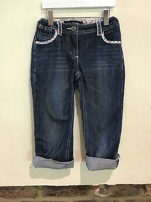 Mini Boden Lovely Girls Blue Jeans Age 9 Years Excellent Condition