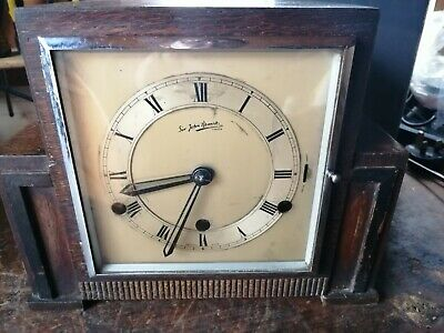 Westminster Chimes Mantle Clock - 8 Day Art Deco