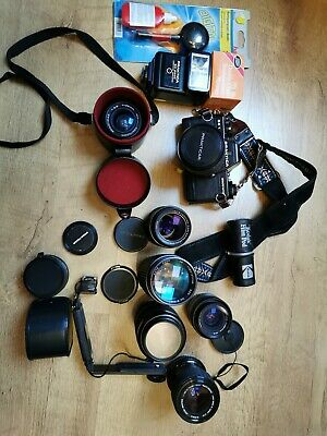 Job lot vintage lenses + 1 camera